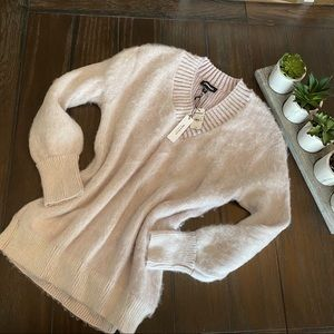 Express/ Oversized Sweater/ Orchid/ Small